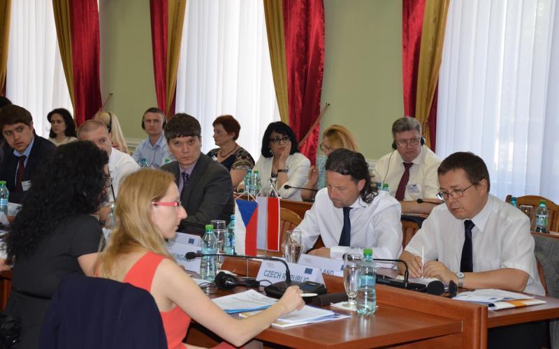 """9.05.2015/Conferința finală a proiectului """"Combaterea migrației iregulare în Moldova"""""""